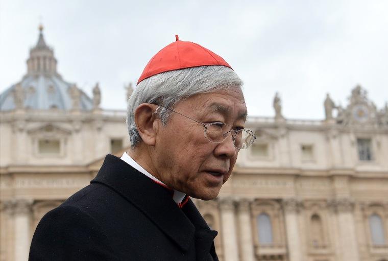 VATICAN-POPE-CARDINALS